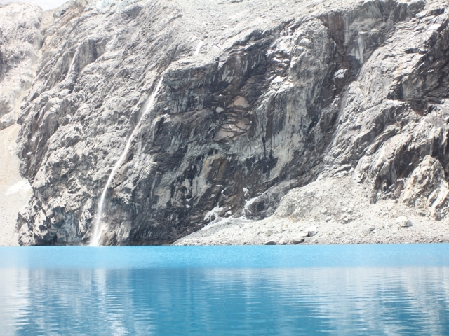 Huaraz lagoon