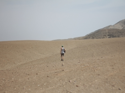 Lost man in the desert – Chicama