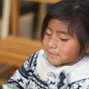 Peruvian little girl