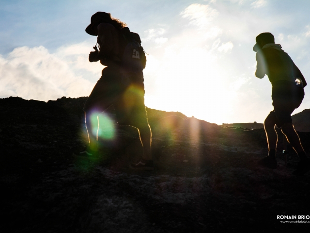 Climbing Chicama's mountain