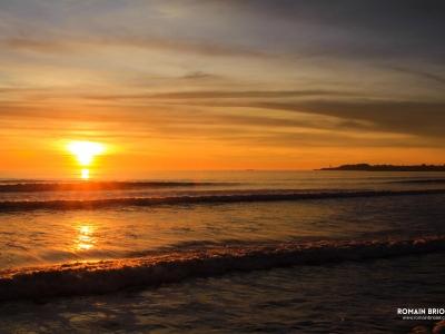 Sunset in Saint-Gilles-Croix-de-vie