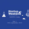 Startup Weekend Nantes #6 (2015) – Day 1