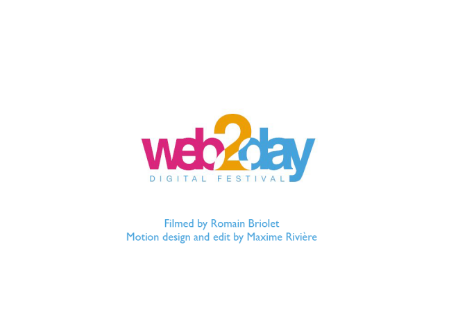 Teaser Web2day 2016