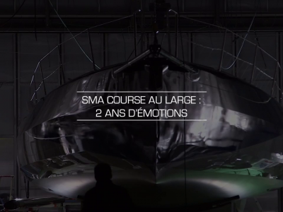SMA Course au large : 2 ans d'émotions