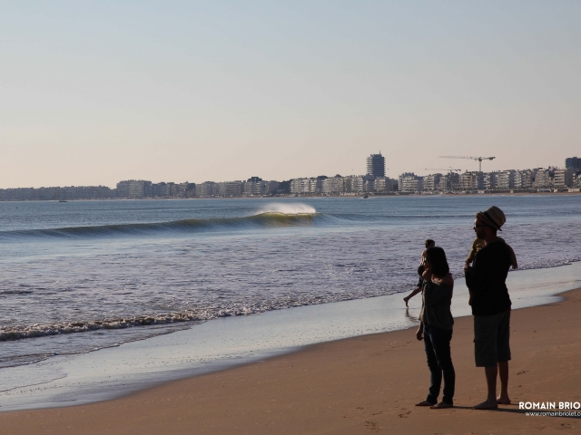 Family at the beach – Pornichet, France