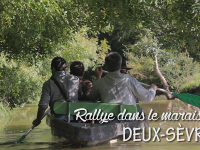 Rallye dans le marais des Deux-Sèvres