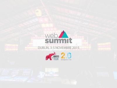 Délégation Nantes Tech au Web Summit 2015