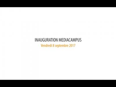 Audencia – Inauguration MediaCampus